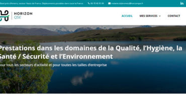 Site web Horizon QSE