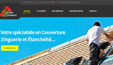 Site internet Toitures Dufermont