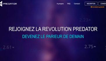 Création site internet Predator